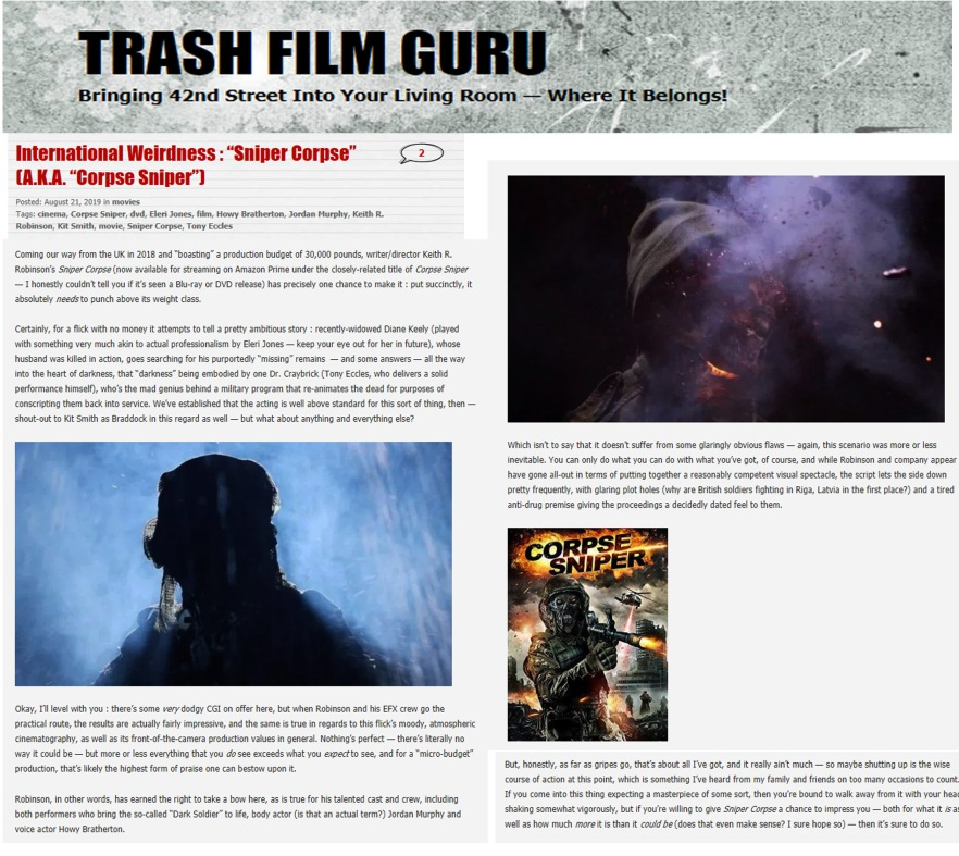 SC Trash Film Guru Review