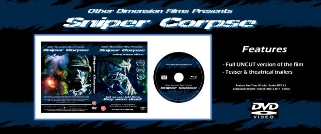 Web page advert DVD