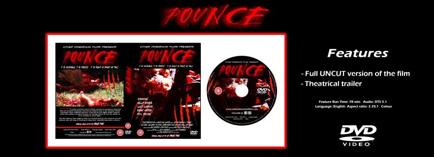 POUNCE Web page advert DVD