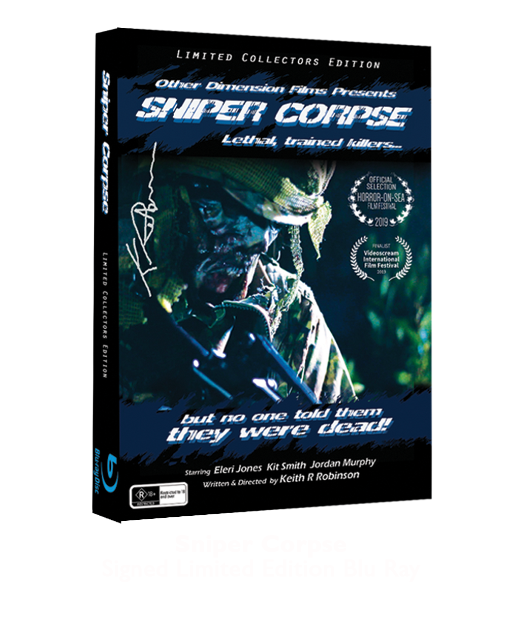 Sniper Corpse BRAY Disc WEBSITE STORE