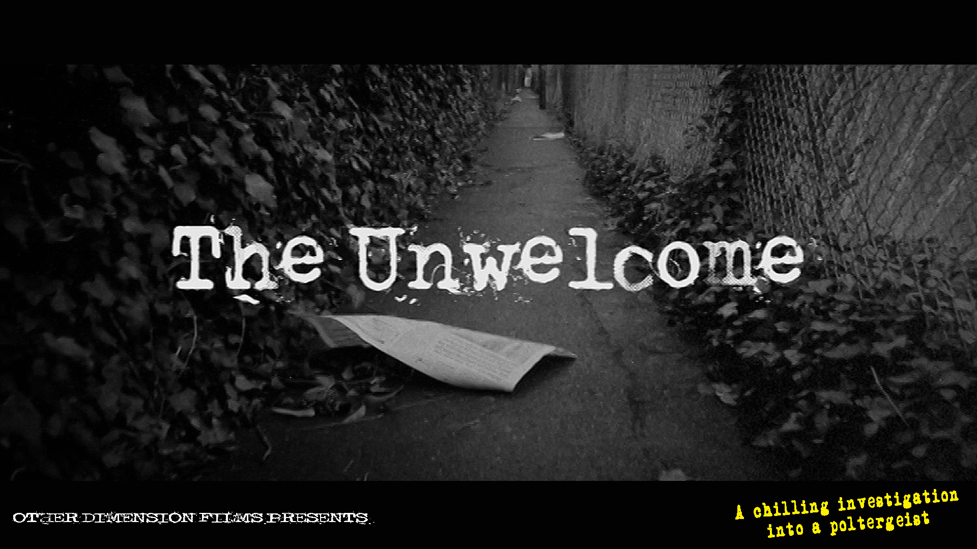 Unwelcome Poster 1